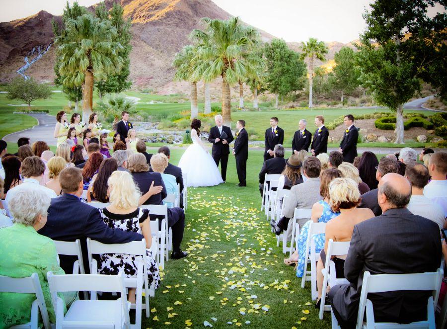 Brightwood golf course wedding
